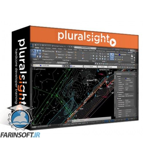 آموزش PluralSight Introduction to Surveying: Field to Finish in AutoCAD Civil 3D