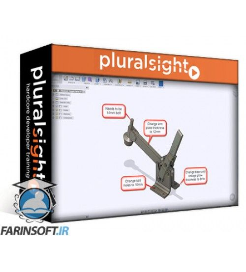 آموزش PluralSight Fusion 360 for SOLIDWORKS Users