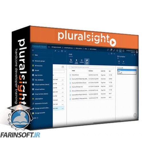 آموزش PluralSight Understanding and Using Azure Storage