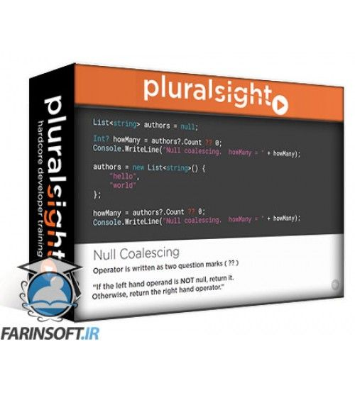 دانلود آموزش PluralSight C# 6 from Scratch