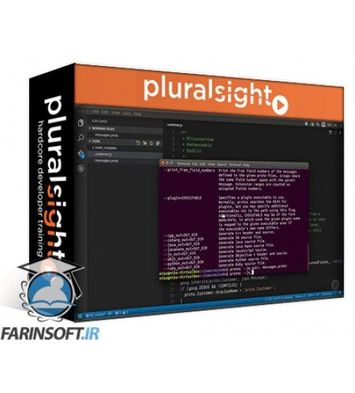 آموزش PluralSight Moving Beyond JSON and XML with Protocol Buffers