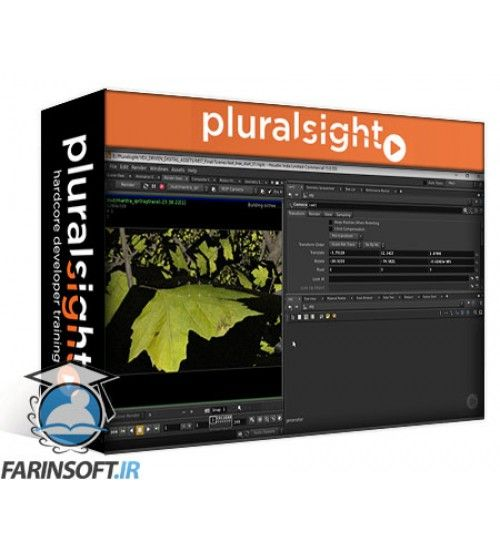 آموزش PluralSight Designing VEX Driven Digital Assets in Houdini
