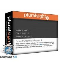 آموزش PluralSight Puppet 4: Language Essentials