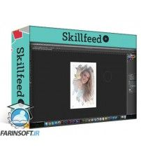 دانلود آموزش Skillshare A Lite Touch: Editing and Prepping Portraits in Photoshop