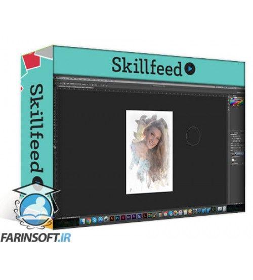 آموزش SkillFeed A Lite Touch: Editing and Prepping Portraits in Photoshop