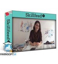 آموزش SkillFeed From Watercolor & Pencil Graphics to Logo Design & Abstract Painting