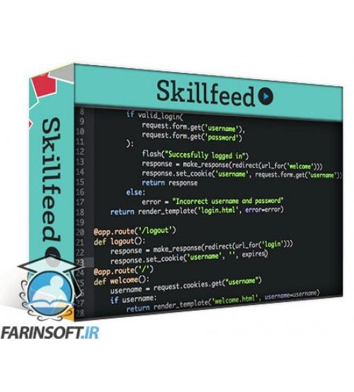 آموزش SkillFeed Professional Backend Web Development with Python Flask