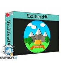 دانلود آموزش Skillshare Flat Art Design for Instagram & Web