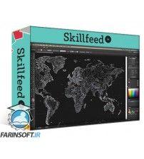 دانلود آموزش Skillshare Topography & Design: Create Your Own Vector Topo Map