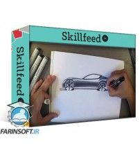 دانلود آموزش Skillshare Car Design Sketching: From Initial Line Work to Final Marker Rendering