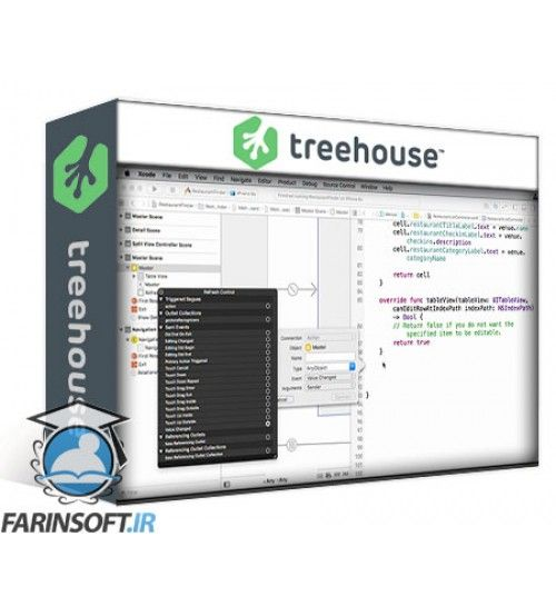 آموزش Team TreeHouse Displaying Data with Table Views in Swift 2