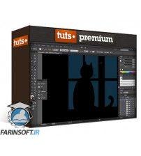 دانلود آموزش Tuts+ Vector Silhouettes for Beginners