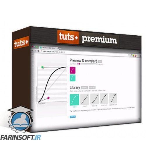 آموزش Tutsplus Up and Running With CSS Transitions