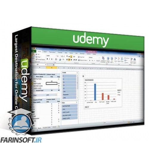 آموزش Udemy Excel Dashboards tips to impress your Manager