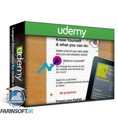 آموزش Udemy Work Online Guide for Digital Nomads and Corporate Escapists