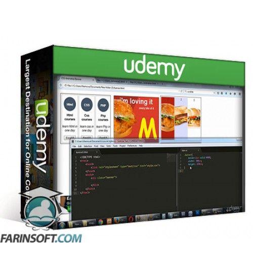 آموزش Udemy Learn How To Create HTML And CSS Animated Banners