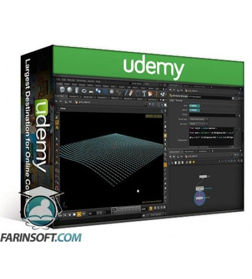 آموزش Udemy Math in Houdini FX