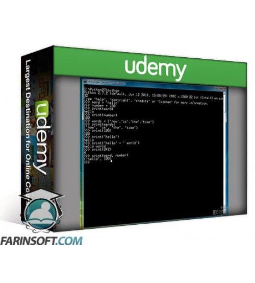 آموزش Udemy Python Course Online Python Training for Beginners