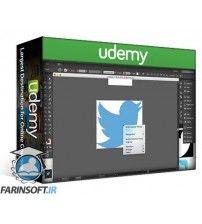 آموزش Udemy Design your own Social Media Logo Icons in Adobe Illustrator