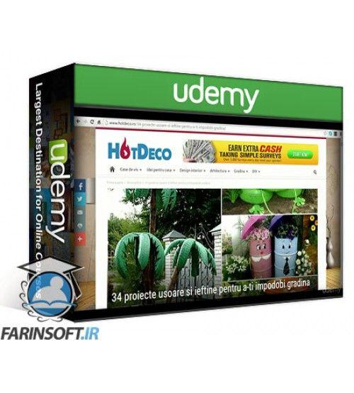 آموزش Udemy Viral Marketing – The 8 Steps Online Business Blueprint