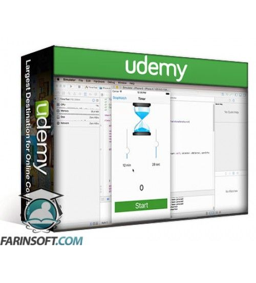 آموزش Udemy iOS9 and Swift2 Developer Course - Make 13 Awesome Real Apps