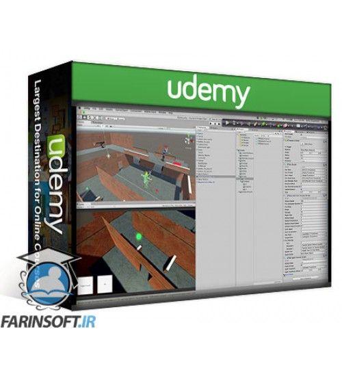 آموزش Udemy AI Programming with Finite State Machines in Unity