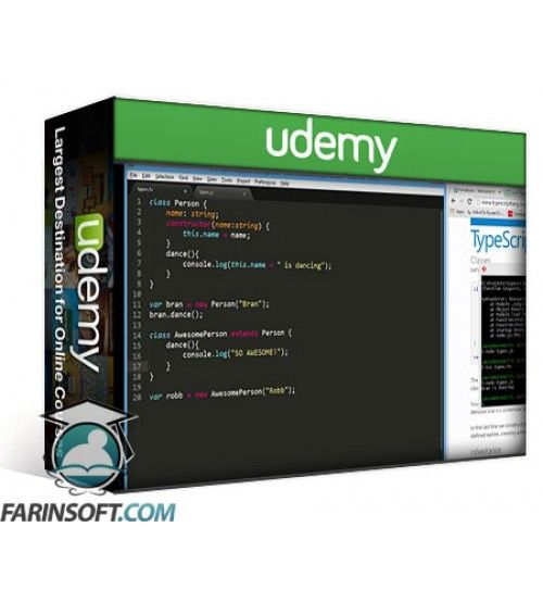 آموزش Udemy Introduction to TypeScript