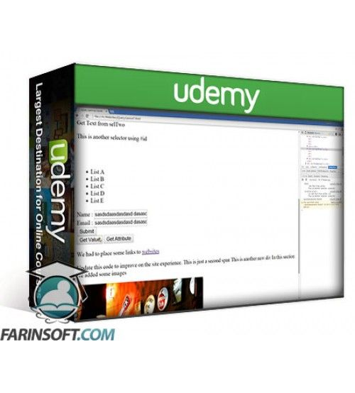 آموزش Udemy jQuery Fundamentals Powerful Bootcamp for beginners
