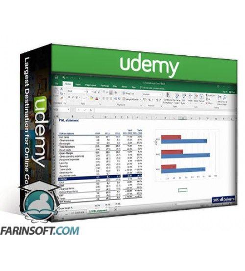 آموزش Udemy Microsoft Excel 2016 Beginners & Intermediate Excel Training