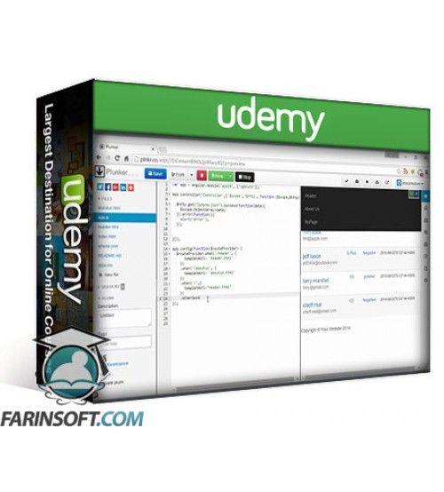 آموزش Udemy AngularJs Get Started and become Expert with practicals