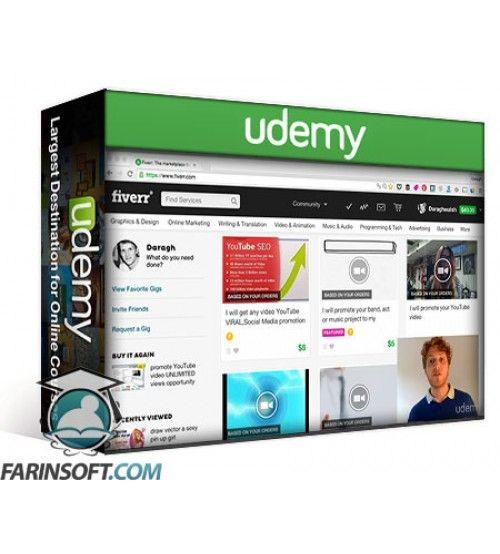 آموزش Udemy Fiverr Freelancing Learn from a Fiverr Top Rated Seller