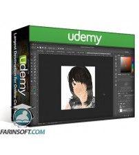 آموزش Udemy Make a Collage Self Portrait in Photoshop