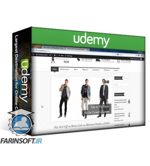 آموزش Udemy Making E-Commerce Sites With WordPress