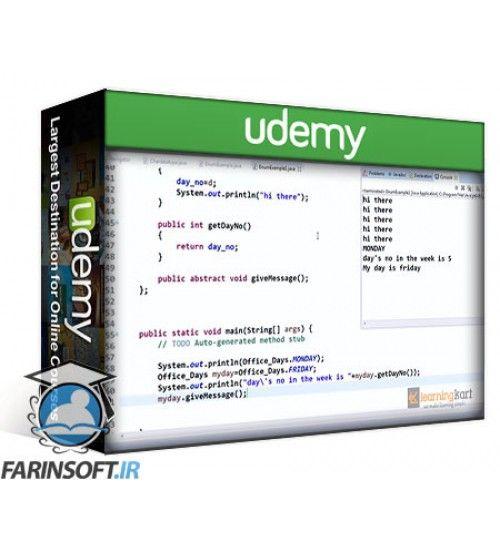 آموزش Udemy The Ultimate Java 8 Tutorial - From beginner to professional