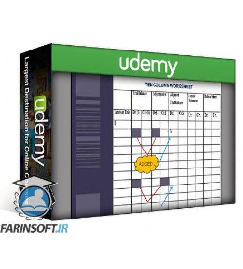 آموزش Udemy Learn Accounting Cycle in 60 minutes
