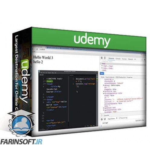 آموزش Udemy Learning JavaScript Core Concepts
