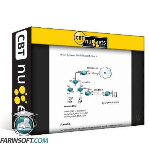 آموزش CBT Nuggets Cisco CCNA ICND2 200-105