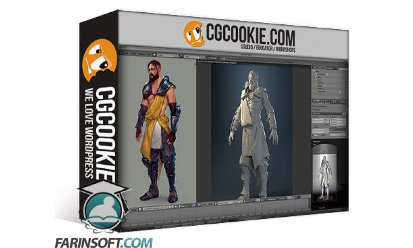 Realistic Character Modeling Blender : آموزش cg cookie modeling realistic characters with blender