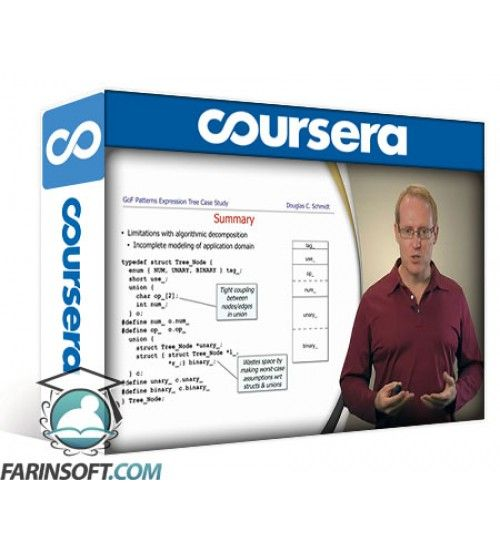 آموزش Coursera Pattern-Oriented Software Architectures for Concurrent and Networked Software