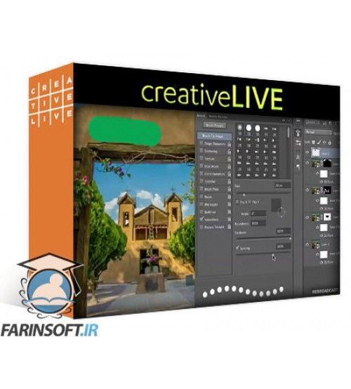 آموزش CreativeLive Adobe Photoshop : Creative Explorations Lighting Effects & More