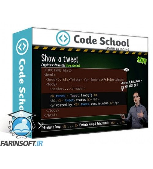آموزش Code School Rails for Zombies Redux