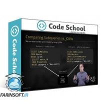 دانلود آموزش Code School The Sequel to SQL