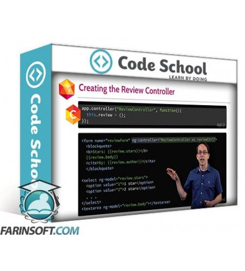 آموزش Code School Shaping up with Angular.js