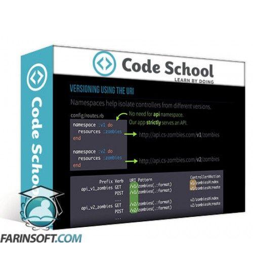 آموزش Code School Surviving APIs with Rails