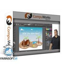 آموزش CompuWorks Adobe Illustrator CC Introduction