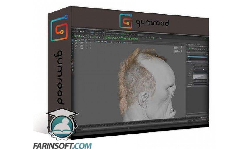 دانلود آموزش Gumroad Xgen Hair for Characters