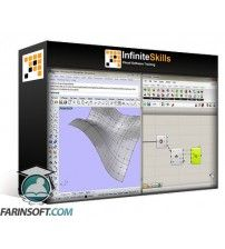 دانلود آموزش Visual Programming in Rhino3D with Grasshopper Training Video