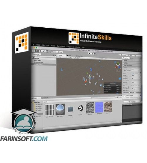 آموزش Infinite Skills Getting Started with Game Development in Unity Training Video