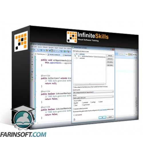 آموزش Infinite Skills Spring MVC for Java Developers Training Video