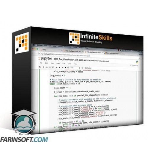 آموزش Infinite Skills Natural Language Text Processing with Python Training Video